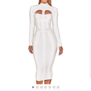 Midi bodycon party dress